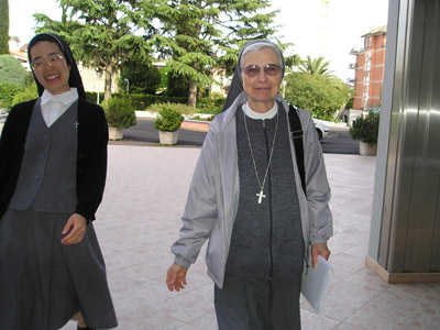"Rome. Canonical visit of Sr. Emilia Musatti to the community of ""Madre Ersilia Canta"", which depends directly from La Madre."