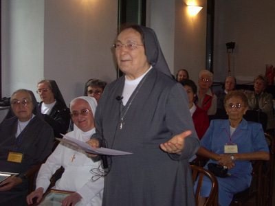 In the Council Chambers situated in the municipal building of the ancient Chapel of the second house of Mornese (1897-1972), honorary citizenship of the city of Mornese was conferred on Mother Antonia Colombo.