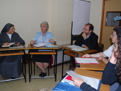 Rome. The Chapter members and laity took part in workshops in which they share experiences and objectives for a collaborative journey in service of the charism.