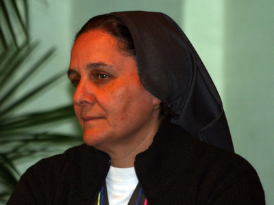 Rome. Intervention by Sr. Rita Francescangeli, FMA, of Rome, at the round table discussion: <em>Meeting today's challenges working together to be a sign of the love of God in a world that needs hope.</em>