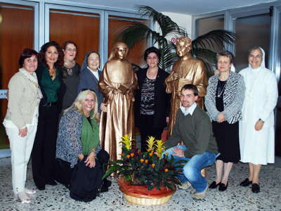 Rome. The meeting of the World Confederation Council of the Past Pupils of the Daughters of Mary Help of Christians with the Chapter members.