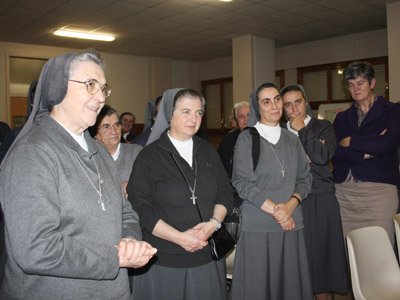 Rome. The directive Sisters of Ciofs-fp met with Mother Antonia who thanks them for their support during these years.