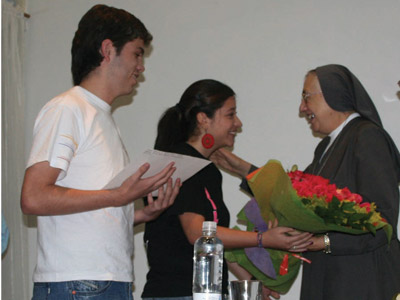 Visit of Mother Yvonne Reungoat to the Colombian province Santa Maria Mazzarello (CMM).