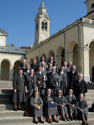 Project Mornese 2007 – The Italian language group at Genoa.