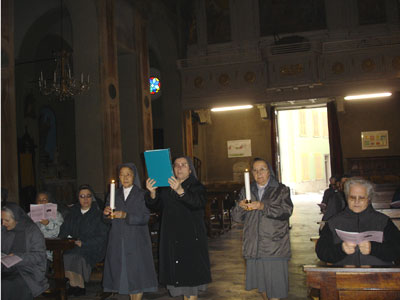Project Mornese 2007 – The Italian language group at the parish.