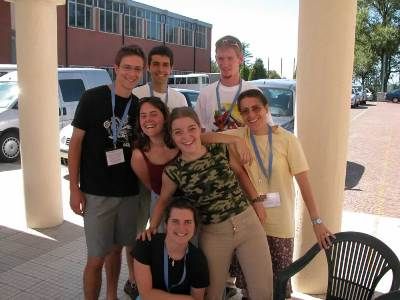 Participants in the European Youth Gathering