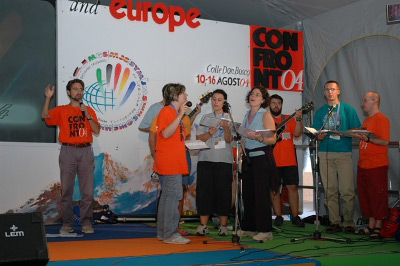Music group, European Youth Gathering