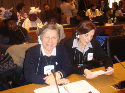 "The Salesian Family Sector and the Administration Sector took part in the 52nd session of the Commission on the Status of Women at the UN, Feb 25- March 7. The theme: ""Finance for equality and the empowerment of women""."