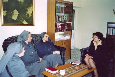 Meeting with Vjollca Meçaj, President of the Centre: Women Lawyers for Women