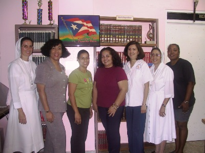 Sr Maritza Ortiz with the Union Council of Santurce