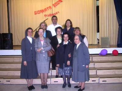 Sr Maritza and Sr Epifania Monticelli with the Council of the Southern Federation