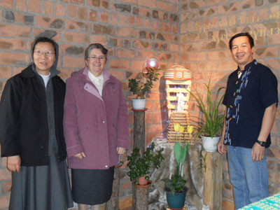 Ulaanbaatar. Visit of Sr. Alaide Deretti to the province of Korea-Mongolia(KOR).House of the Salesians which belong to the Vietnamese province.