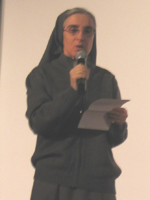 Rome.  At the round table discussion was held to open the centenary year of the death of Venerable Sr. Teresa Valsé Pantellini.