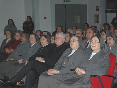 Rome.  At the round table discussion was held to open the centenary year of the death of Venerable Sr. Teresa Valsé Pantellini. (ANS photo)
