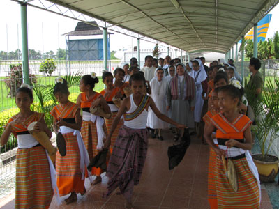 Dili. Canonical visit of Sr. Lucy Rose – East Timor and Indonesia (TIN). Welcome