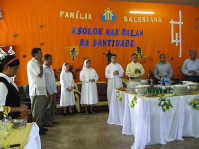 Baucau - Fatumaka. Canonical visit of Sr. Lucy Rose – East Timor and Indonesia (TIN). Salesian Family Encounter.