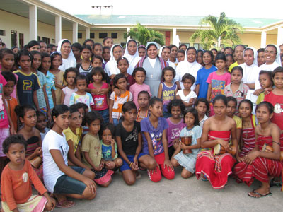 Laga. Canonical visit of Sr. Lucy Rose – East Timor and Indonesia (TIN). Welcome.