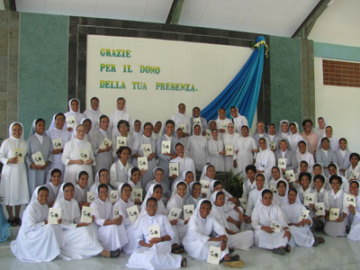 Dili - Comoro. Canonical visit of Sr. Lucy Rose – East Timor and Indonesia (TIN). Provincial assembly.