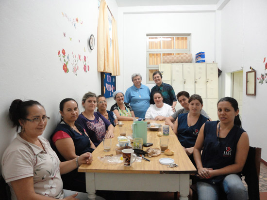Incontro con i collaboratori, Rio do Sul