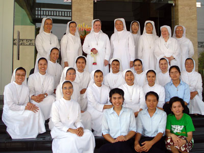 Bangkok. Sr. Carla Castellino visits the province of St. Mary Mazzarello.