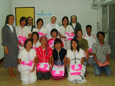 "Chiangmai. Canonical visit of Sr. Carla Castellino to the province ""St. M. Mazzarello"" (THA)."