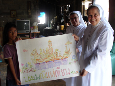 "Ubon. Canonical visit of Sr. Carla Castellino to the province ""St. M. Mazzarello"" (THA)."