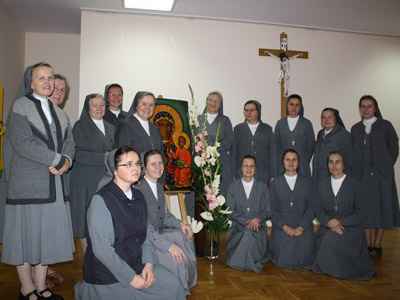 Łomianki.  Canonical visit of Sr. Carla Castellino to the Polish Province of Our Lady of Jasna Gòra (PLJ).