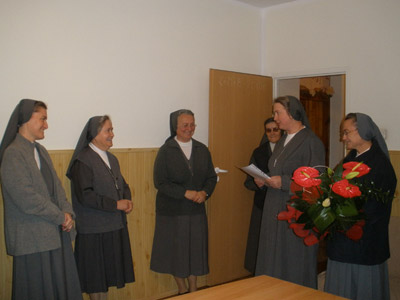 Sokołow Podlaski.  Canonical visit of Sr. Carla Castellino to the Polish Province of Our Lady of Jasna Gòra (PLJ).