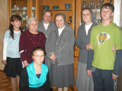 Różanystok. Canonical visit of Sr. Carla Castellino to the Polish Province of Our Lady of Jasna Gòra (PLJ).