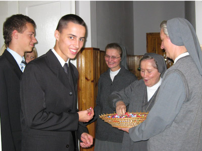 Suwałki. Canonical visit of Sr. Carla Castellino to the Polish Province of Our Lady of Jasna Gòra (PLJ).