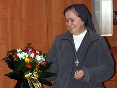 Poznań Maria Ausiliatrice.  Canonical visit to the Polish Province of Our Lady of Jasna Gòra (PLJ). Greetings by the community.