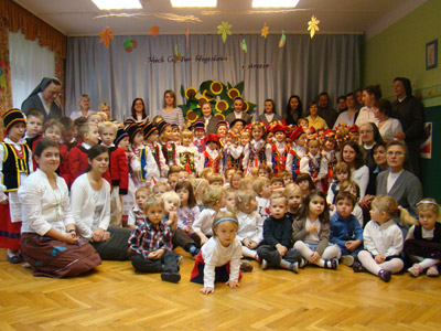 Warszawa S. Maria D. Mazzarello.Canonical visit to the Polish Province of Our Lady of Jasna Gòra (PLJ). Preschool.