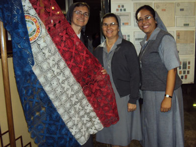 Visit of Sr. Marija in Paraguay. Celebrating the Bicentennial of independence.