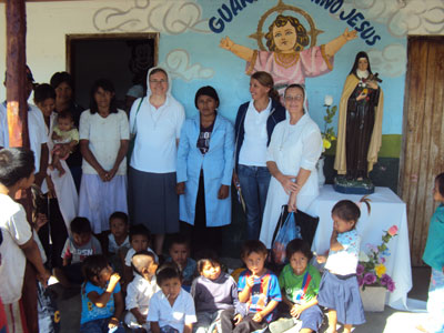 Puerto Casado. Visit of Sr. Marija in Paraguay. Apostolate with the indigenous.
