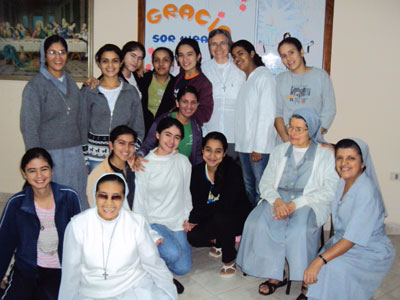 Visit of Sr. Marija in Paraguay. Formation house.