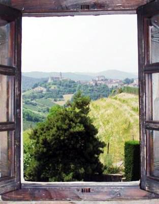 La ventana de la casa de Valponasca