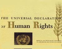 64º Aniversario de la adopción de la Declaración Universal de los Derechos Humanos