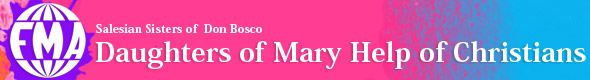 Institutional logo of the Daughters of Mary Help of Christians - Go to the Home Page