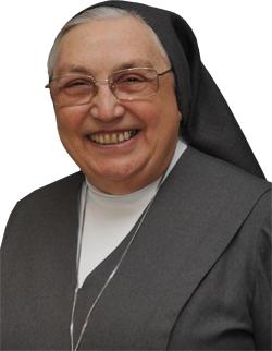 Immagine di Suor Antonia Colombo, attuale Superiora generale