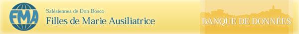 Logo institutionnel des Filles de Marie-Auxiliatrice - Retour Page d